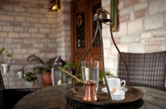 Greek Coffee in Nisista Hotel