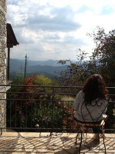 musing in Hotel Papanikola
