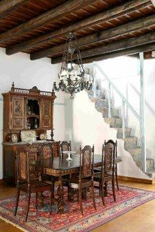 Patmos- Petra Villa Dinning Room DTL