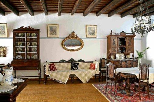 Patmos- Petra Villa Dinning Room